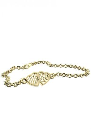 Royolz armband met vingerafdruk FPA 208 - goud