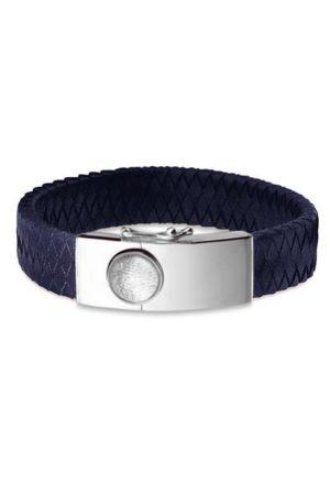 See You armband met vingerafdruk BG 007 F blauw
