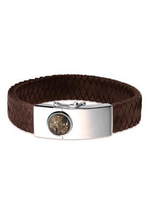 See You armband met asvulling BG 007 bruin