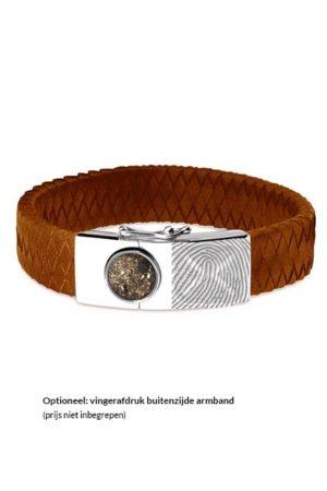 See You armband met asvulling BG 007 camel
