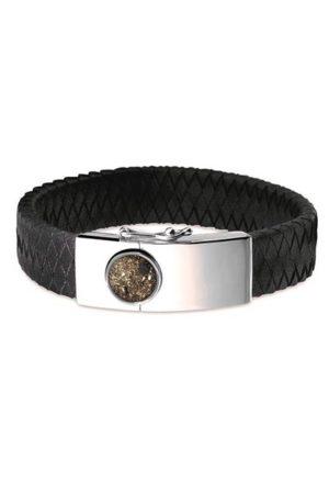 See You armband met asvulling BG 007 zwart