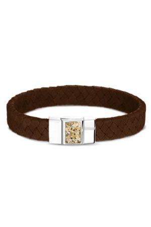 See You armband met asvulling BG 008 bruin