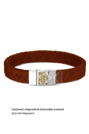 See You armband met asvulling BG 008 camel