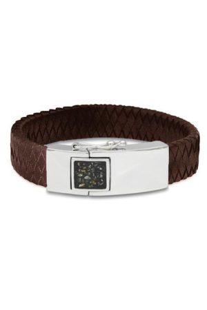 See You armband met asvulling BG 011 bruin