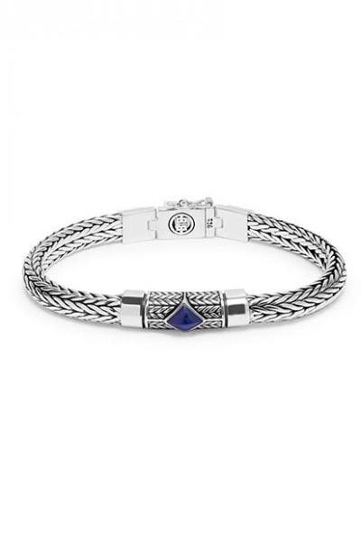 Buddha to Buddha Ellen XS Stone Blue armband J005BU