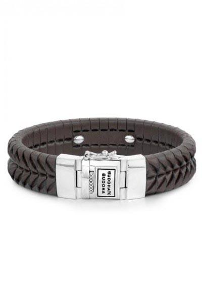 Buddha to Buddha Komang Leather armband Brown 161BR