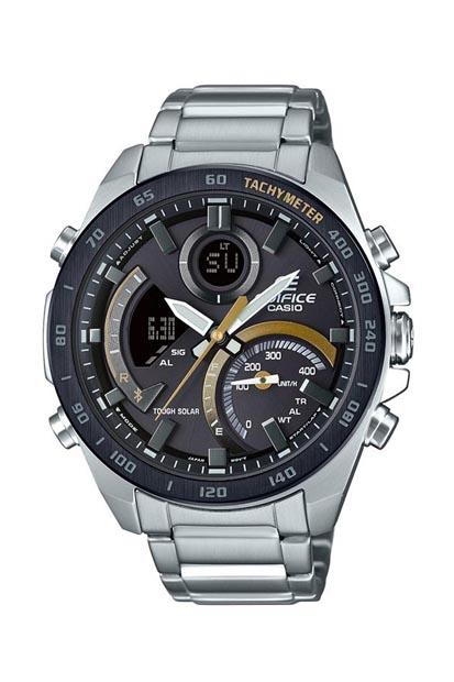 Edifice heren horloge  - ECB-900DB-1CER