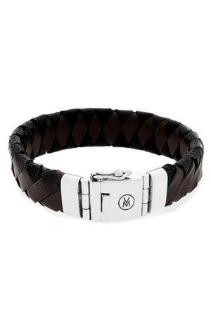 van Mispelaar armband 205034-bruin