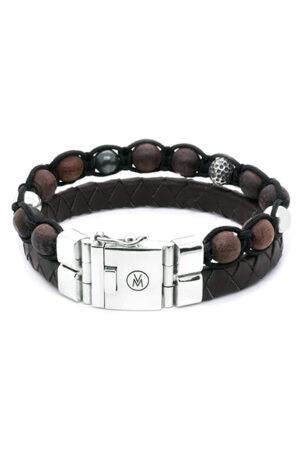 van Mispelaar armband 205037-bruin